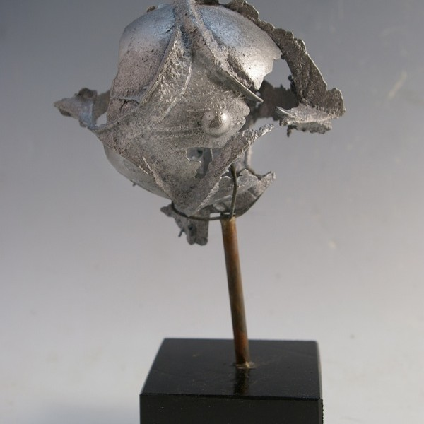 "Spirit Wind Series #31 zinc 8"" tall"
